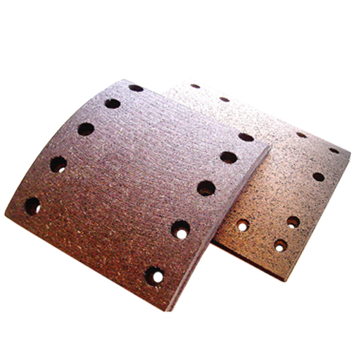 <p> 	A brake shoe is the part of a braking system which carries the brake lining in the drum brakes used on automobiles, or the brake block in train brakes and bicycle brakes.</p>